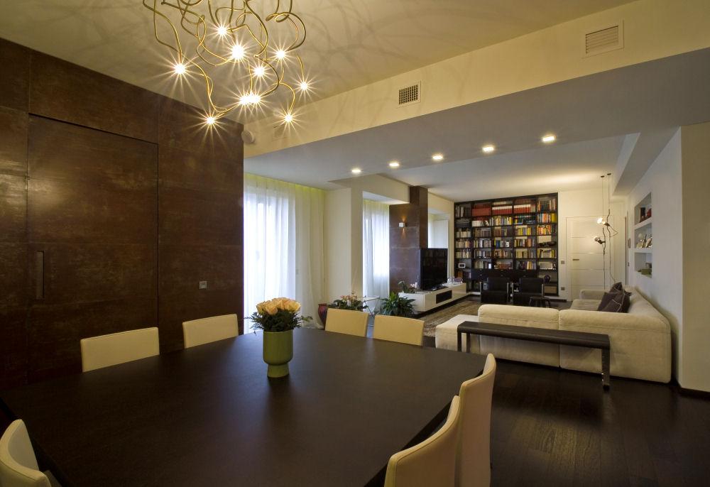 Impianto domotico appartamento milano habitat solutions for Appartamenti di design milano