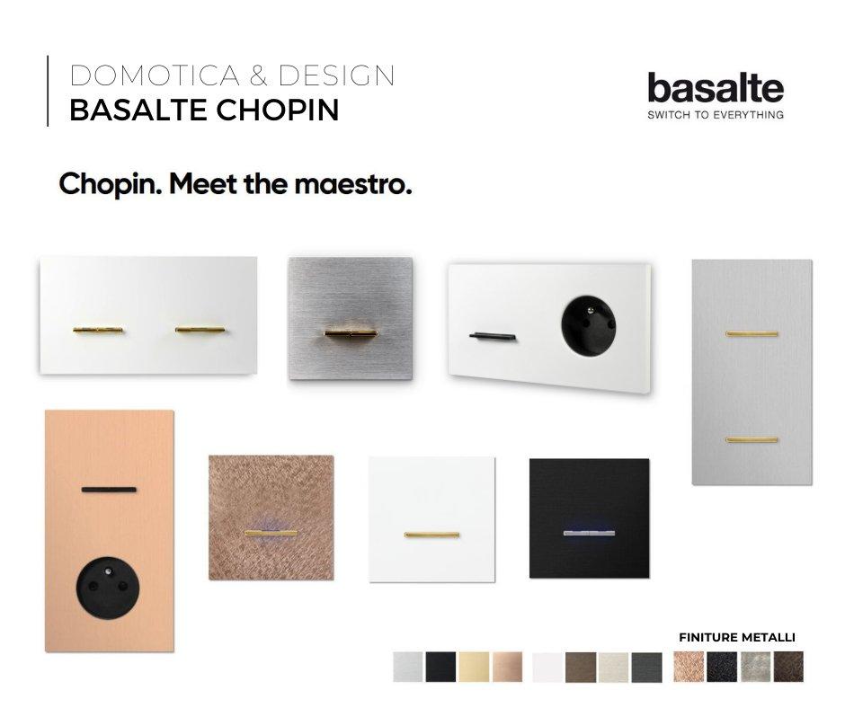 chopin basalte pulsantiere design