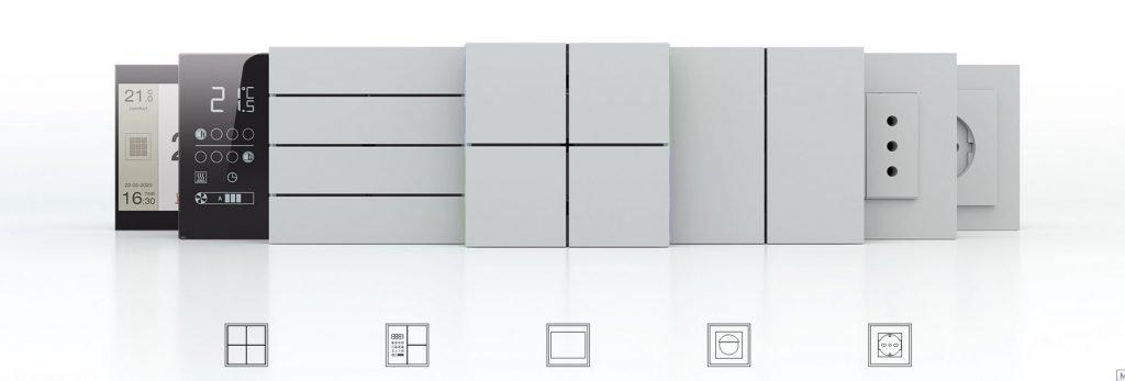 Collezione pulsantiere Ekinex