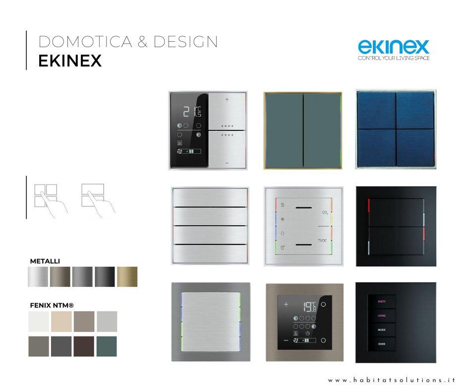Catalogo pulsantiere Ekinex